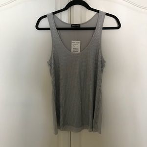 Bebe Sport Sequin Sleeveless Top